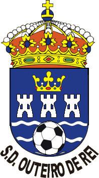 Escudo de S.D. OUTEIRO DE REI (GALICIA)
