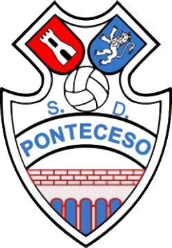 Escudo de S.D. PONTECESO (GALICIA)