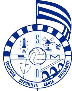 Escudo de S.D. SANTA MARGARITA (GALIZA)
