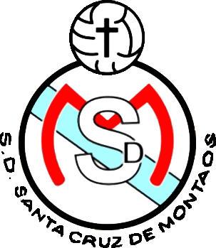 Escudo de S.D. STA. CRUZ DE MONTAOS (GALIZA)