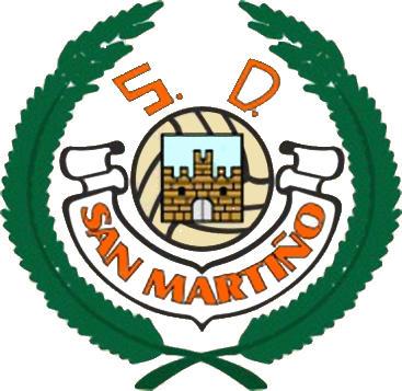 Escudo de SAN MARTIÑO S.D. (GALIZA)