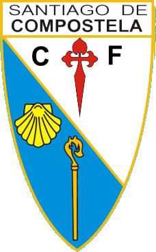 Escudo de SANTIAGO DE COMPOSTELA C.F (GALICIA)
