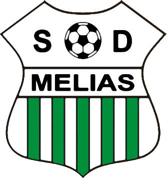 Escudo de SDAD. DEP. MELIAS (GALICIA)