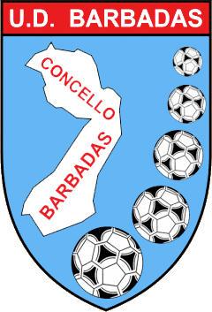 Escudo de U.D. BARBADAS (GALICIA)