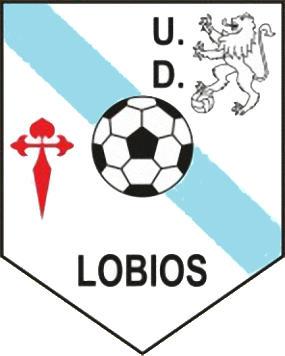 Escudo de U.D. LOBIOS (GALIZA)