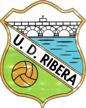 Escudo de U.D. RIBERA O ROSAL (GALIZA)