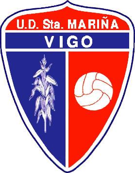 Escudo de U.D. SANTA MARIÑA (GALICIA)