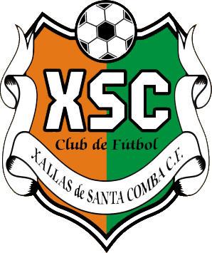 Escudo de XALLAS DE SANTA COMBA C.F (GALICIA)
