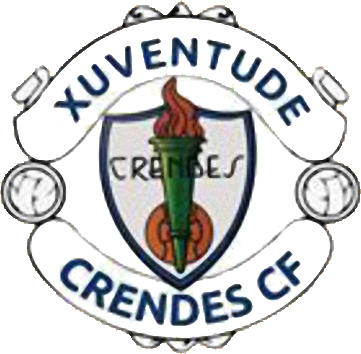 Escudo de XUVENTUDE DE CRENDES C.F. (GALICIA)