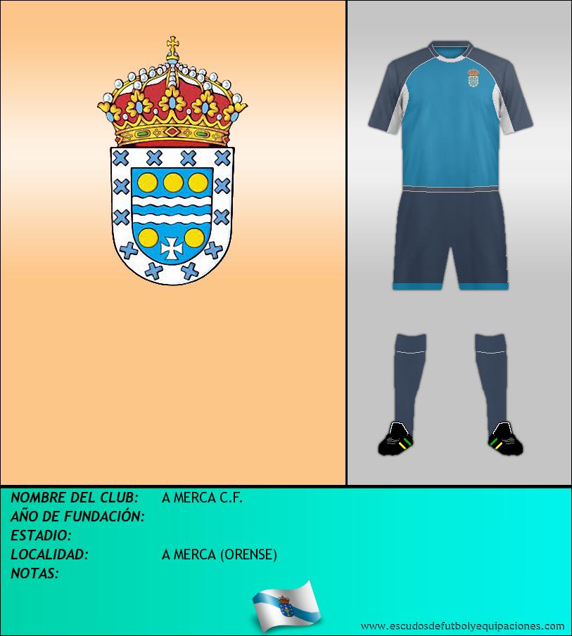 Escudo de A MERCA C.F.