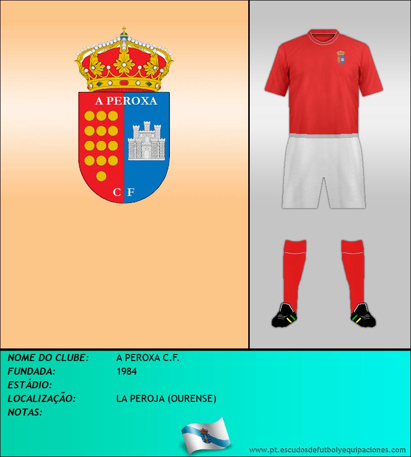 Escudo de A PEROXA C.F.