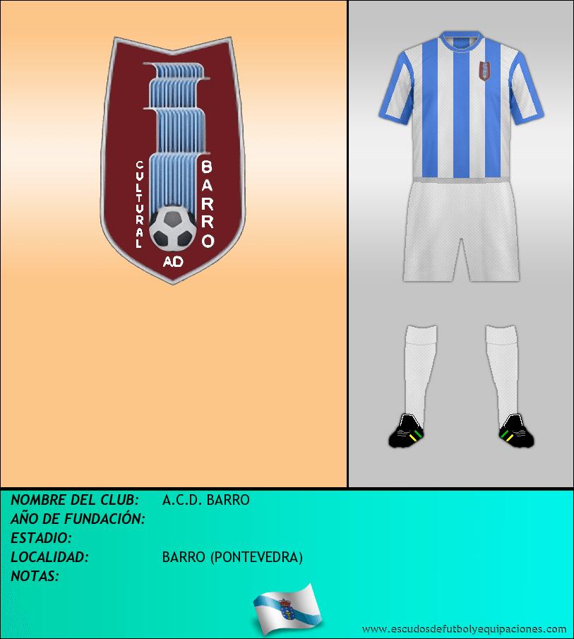 Escudo de A.C.D. BARRO