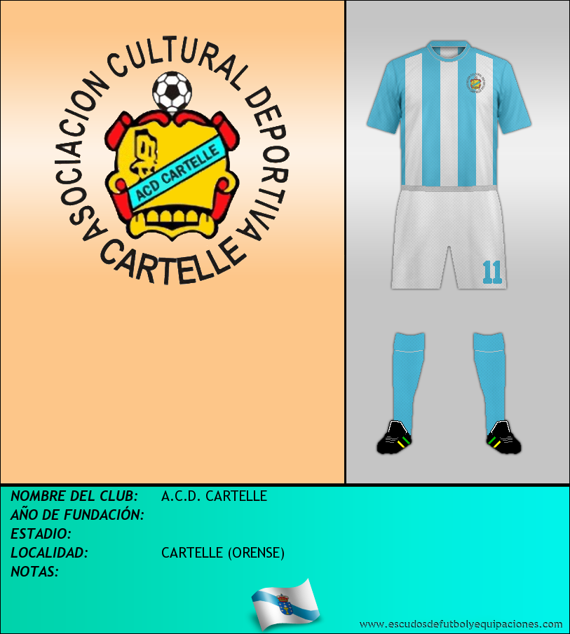 Escudo de A.C.D. CARTELLE