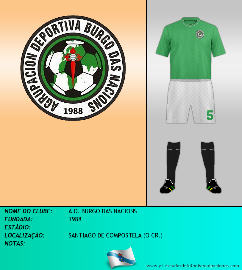Escudo de A.D. BURGO DAS NACIONS