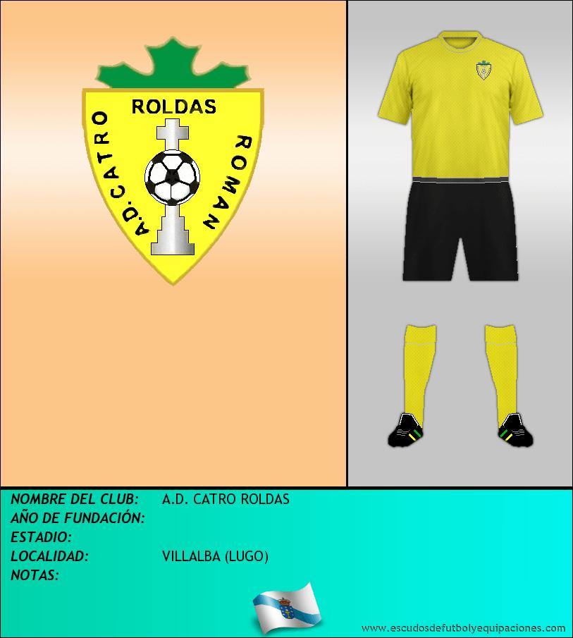 Escudo de A.D. CATRO ROLDAS
