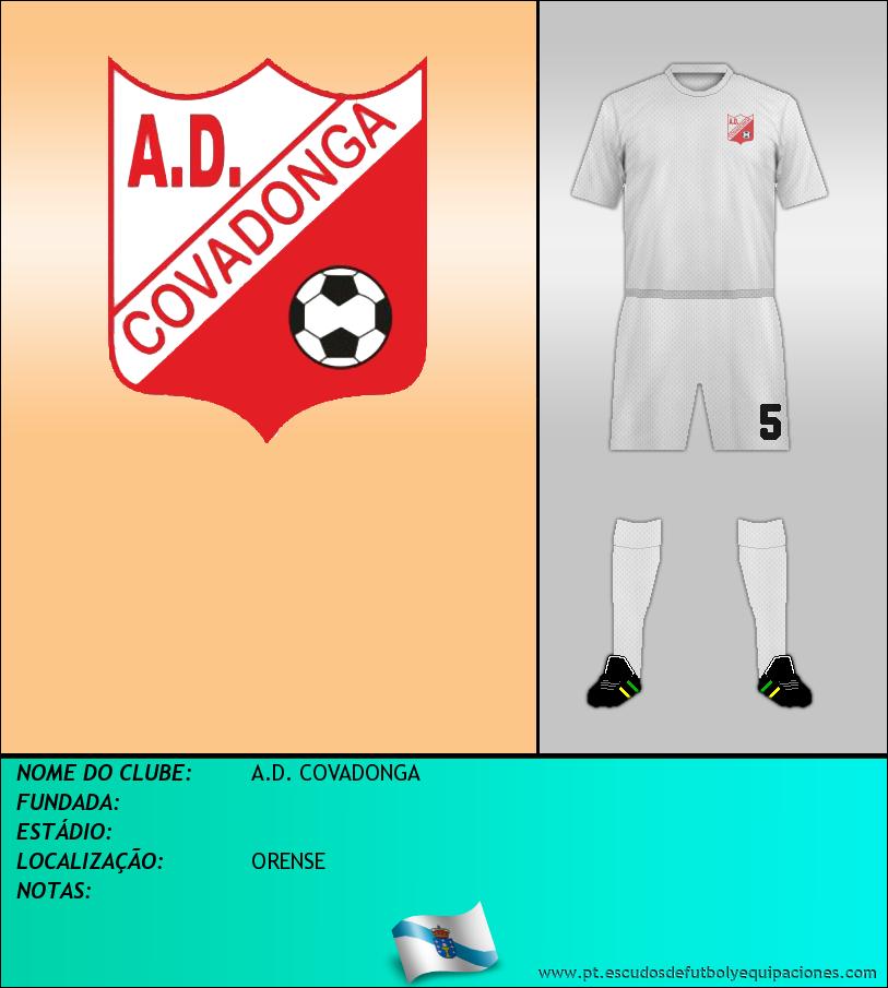 Escudo de A.D. COVADONGA