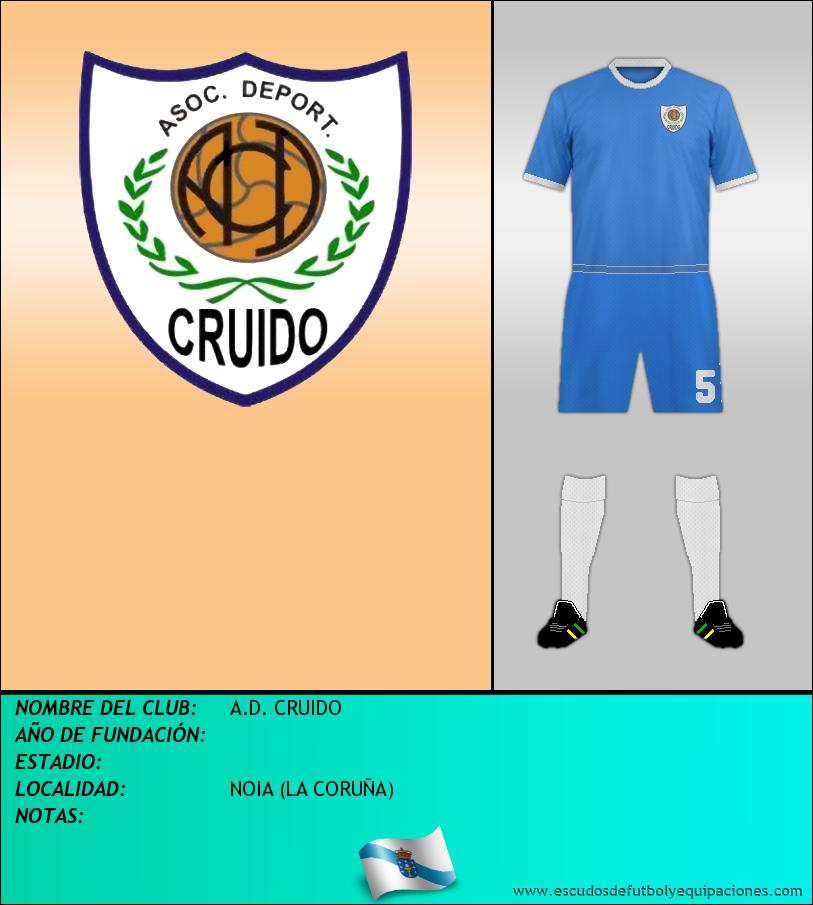 Escudo de A.D. CRUIDO