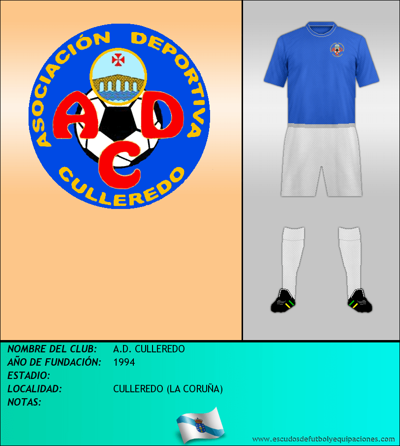Escudo de A.D. CULLEREDO