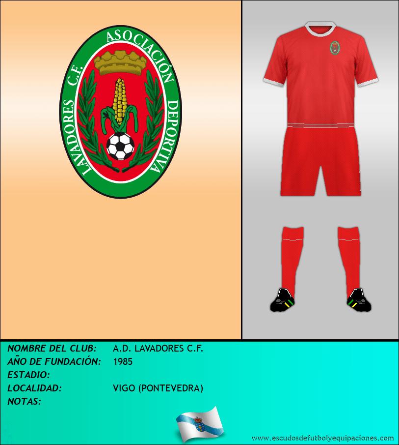 Escudo de A.D. LAVADORES C.F.