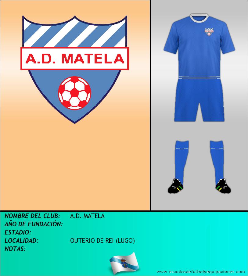 Escudo de A.D. MATELA