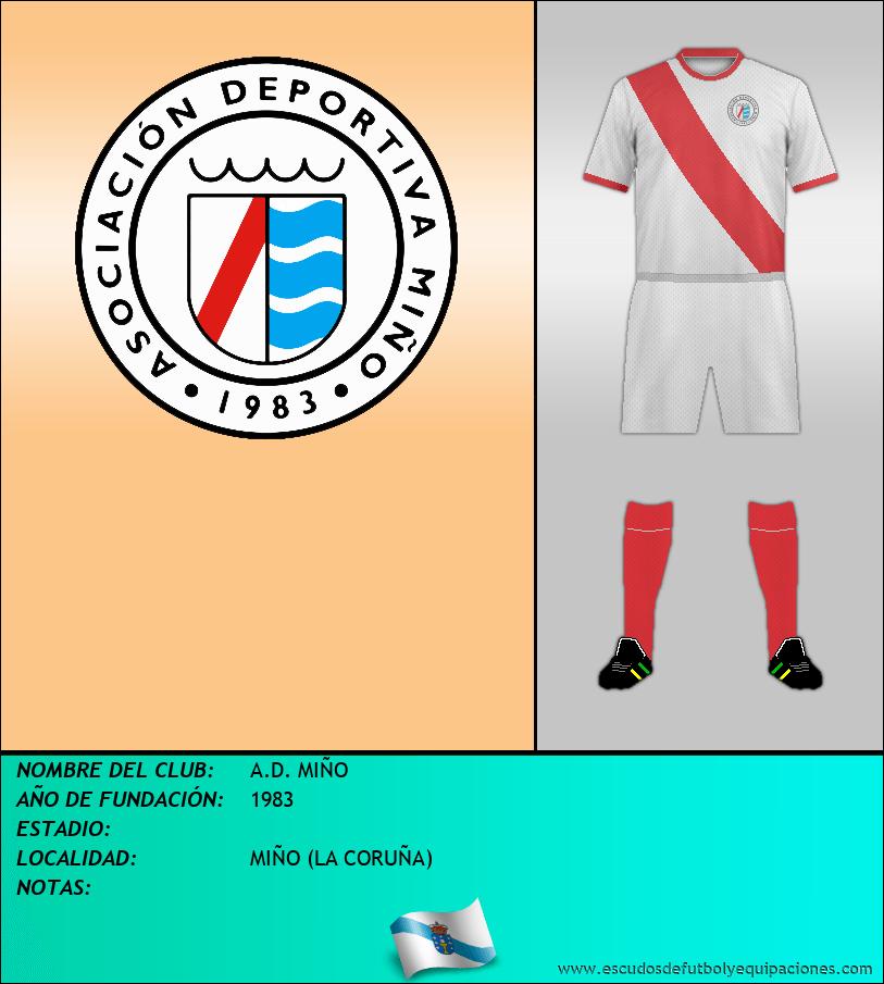 Escudo de A.D. MIÑO