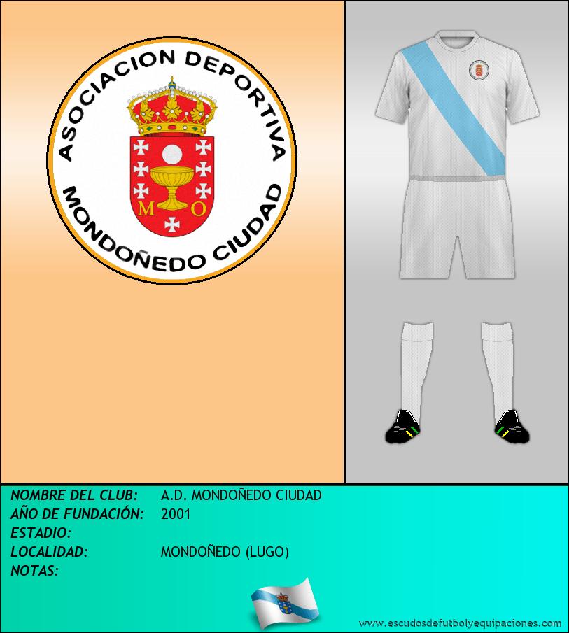 Escudo de A.D. MONDOÑEDO CIUDAD
