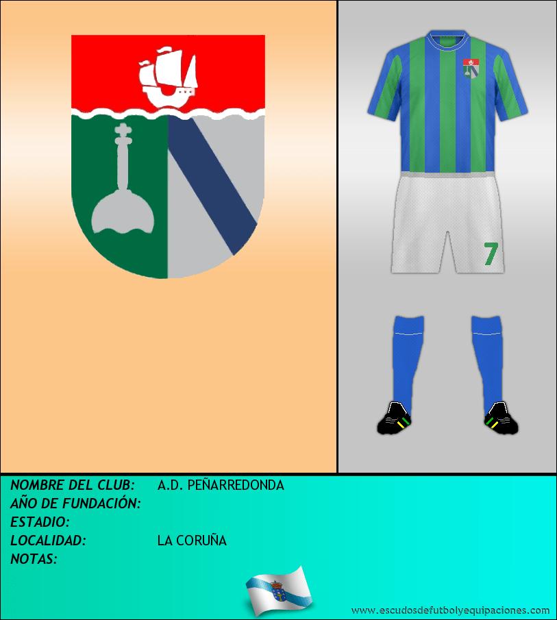 Escudo de A.D. PEÑARREDONDA
