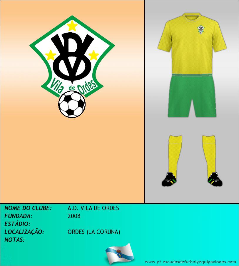 Escudo de A.D. VILA DE ORDES