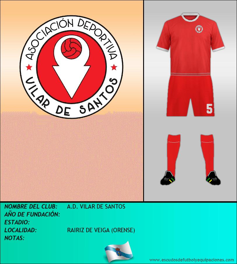Escudo de A.D. VILAR DE SANTOS