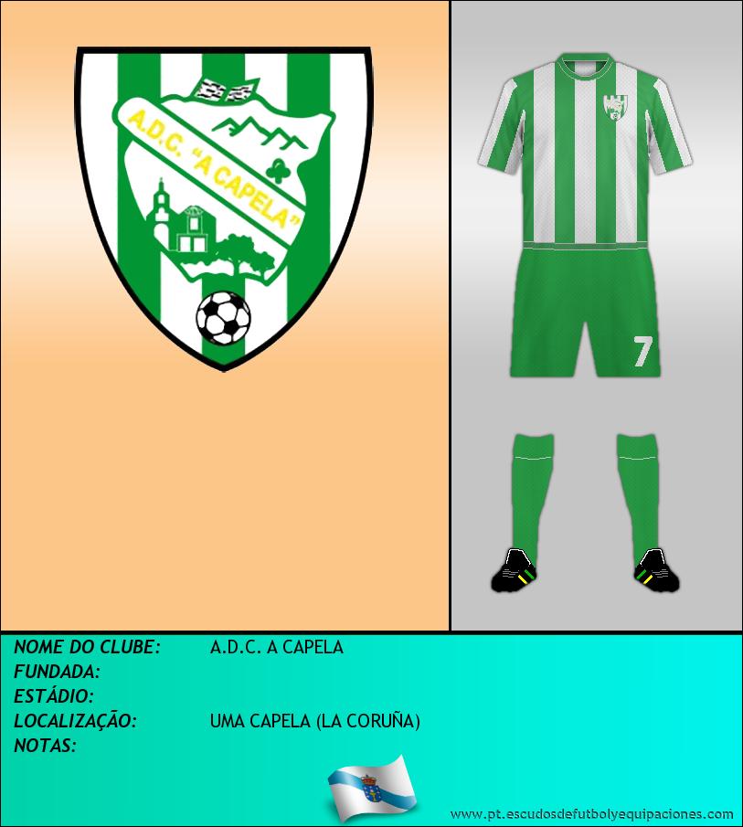 Escudo de A.D.C. A CAPELA