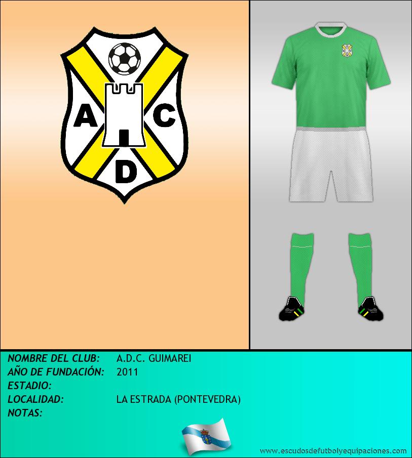 Escudo de A.D.C. GUIMAREI