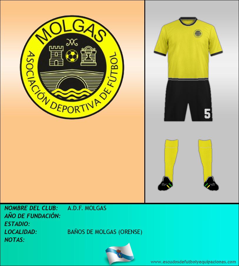 Escudo de A.D.F. MOLGAS