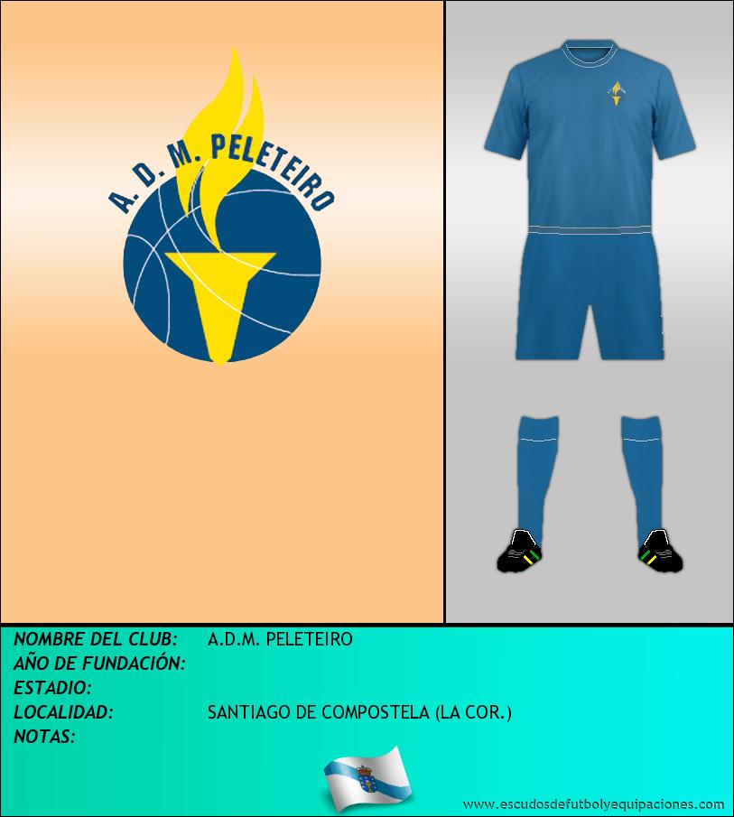 Escudo de A.D.M. PELETEIRO
