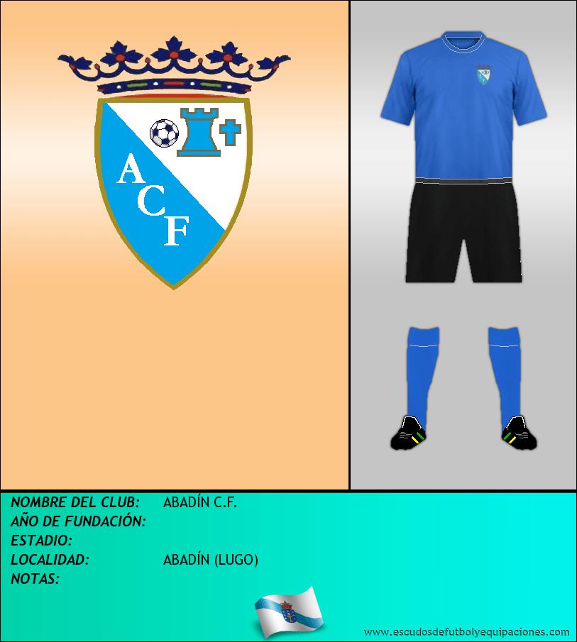 Escudo de ABADÍN C.F.