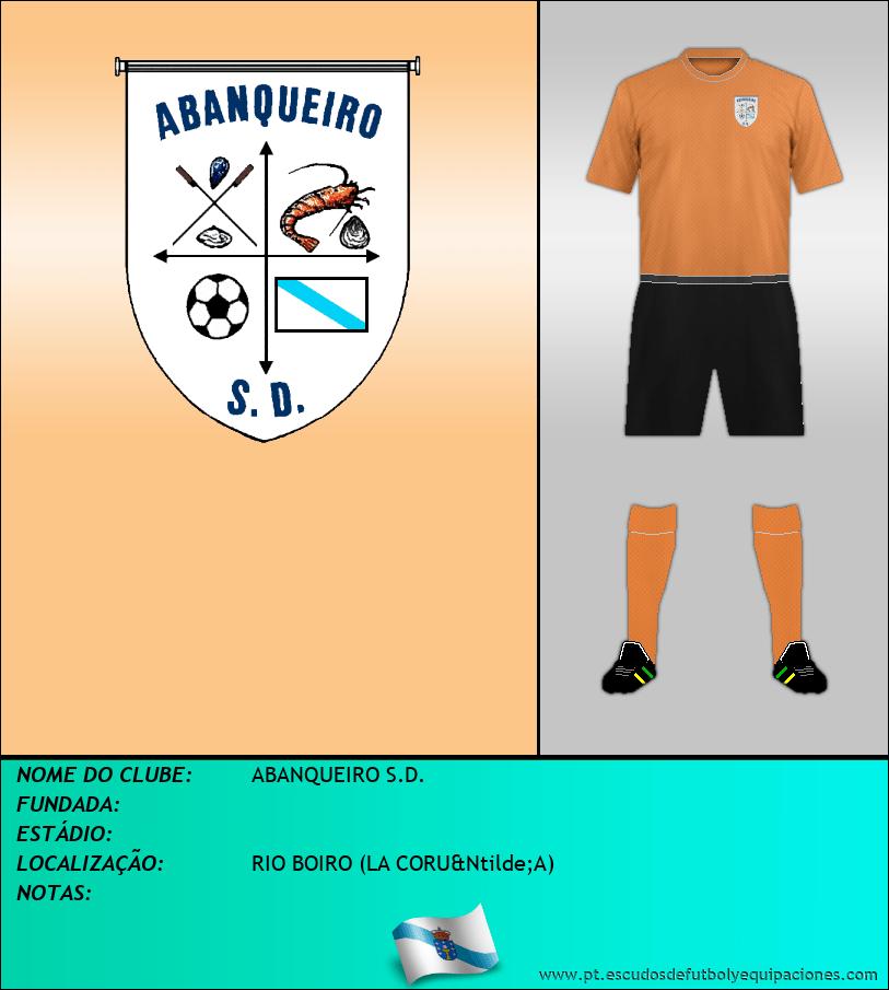 Escudo de ABANQUEIRO S.D.