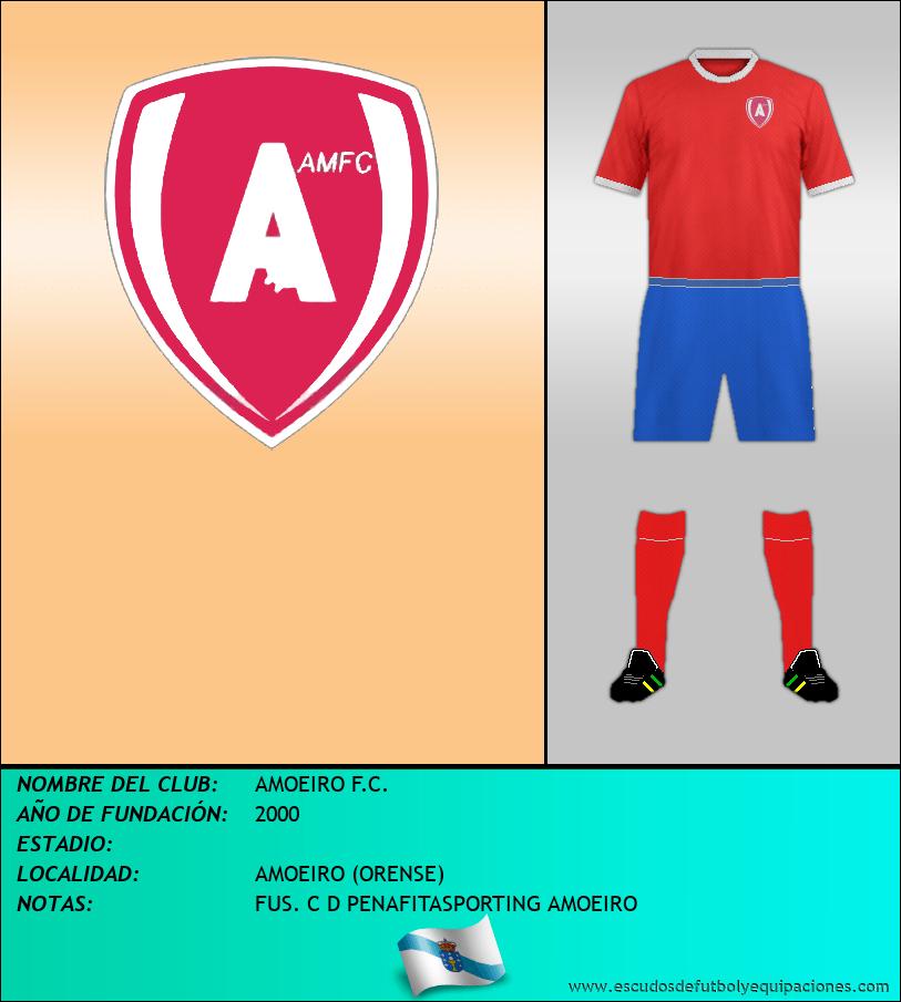 Escudo de AMOEIRO F.C.
