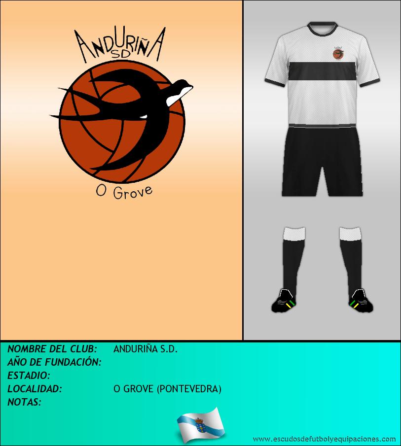 Escudo de ANDURIÑA S.D.