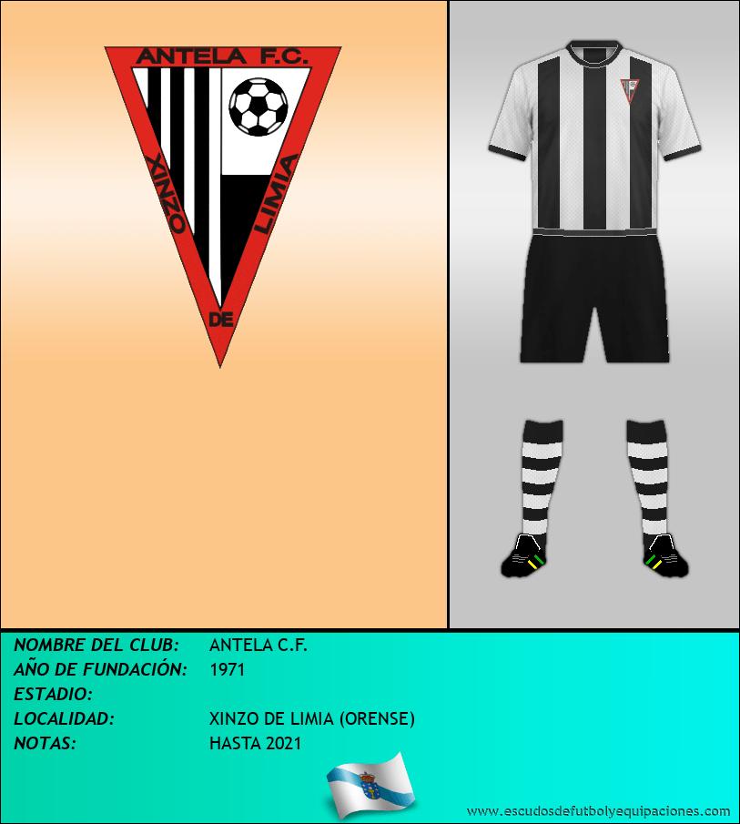 Escudo de ANTELA C.F.