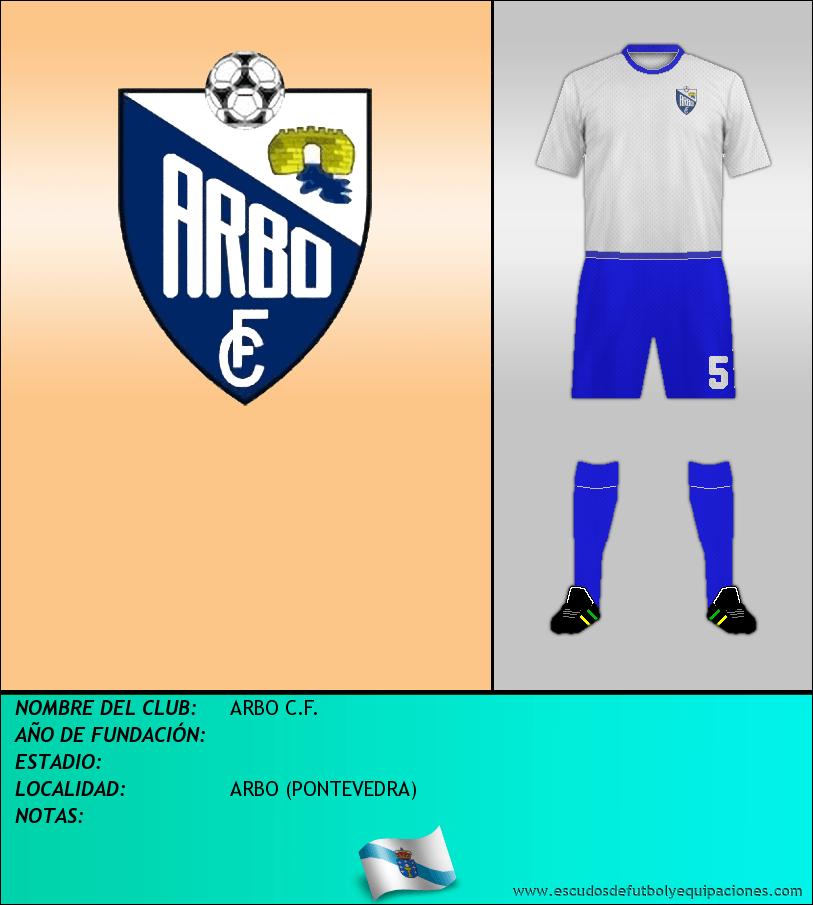 Escudo de ARBO C.F.