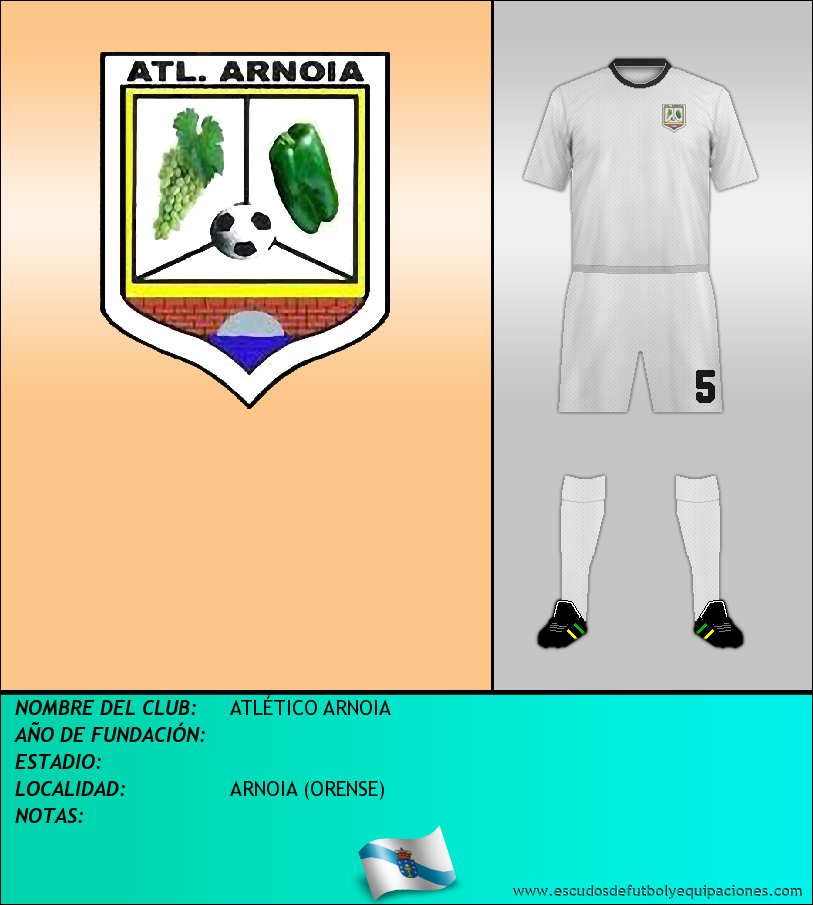 Escudo de ATLÉTICO ARNOIA