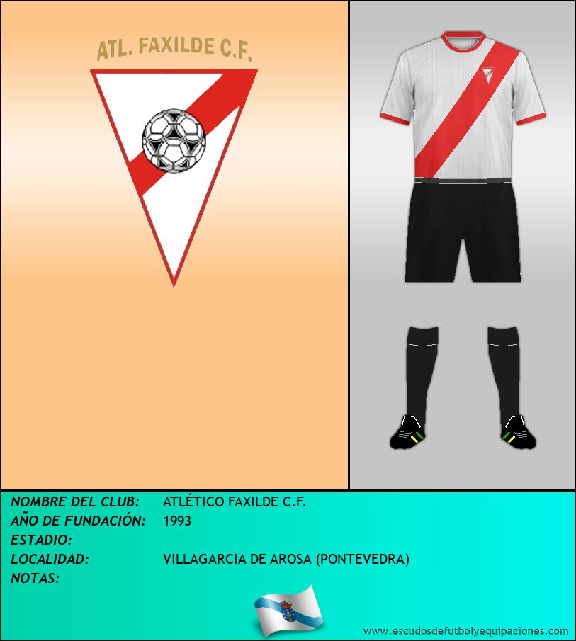 Escudo de ATLÉTICO FAXILDE C.F.