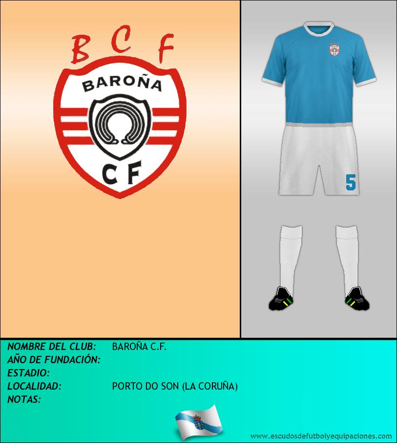 Escudo de BAROÑA C.F.