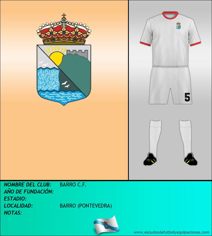 Escudo de BARRO C.F.