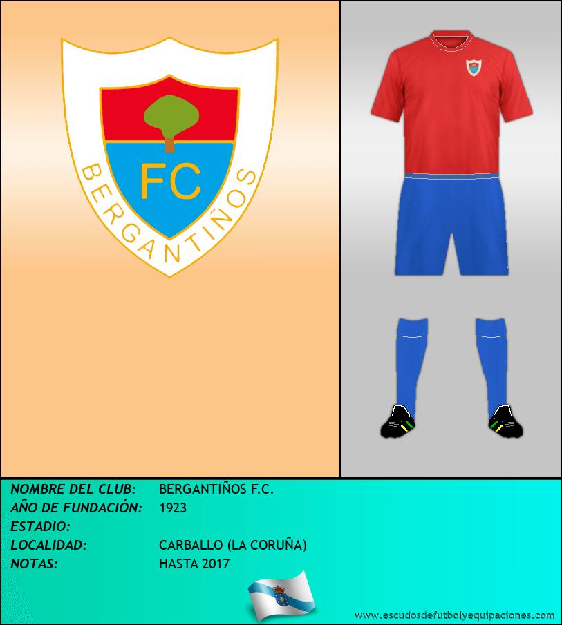 Escudo de BERGANTIÑOS F.C.