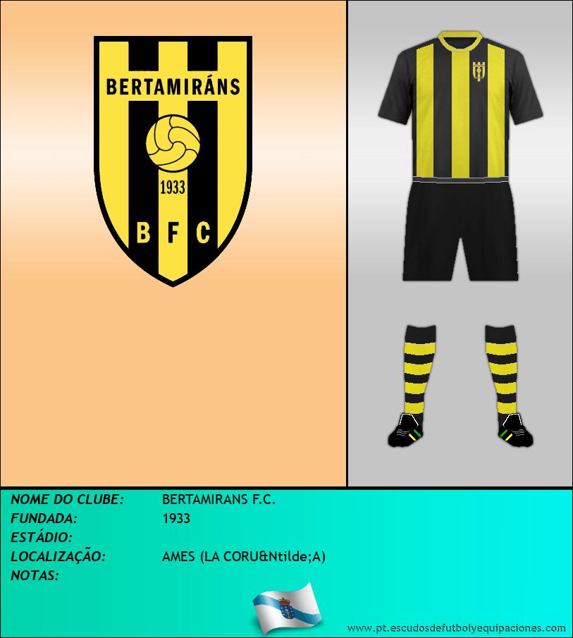 Escudo de BERTAMIRANS F.C.