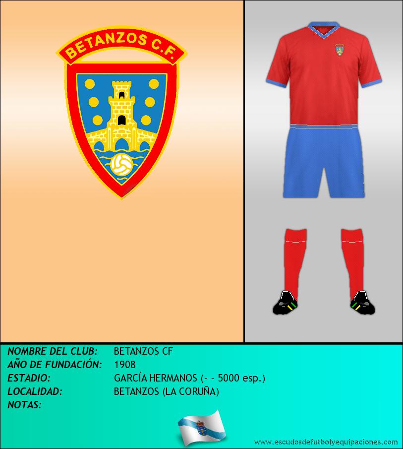 Escudo de BETANZOS CF