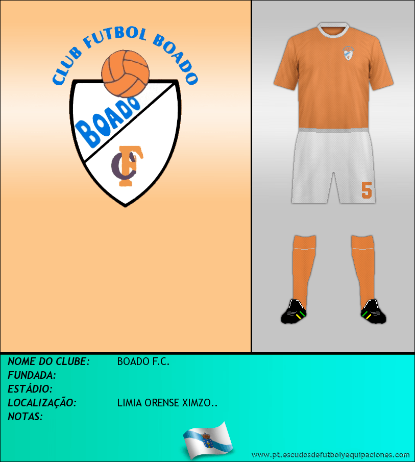 Escudo de BOADO F.C.