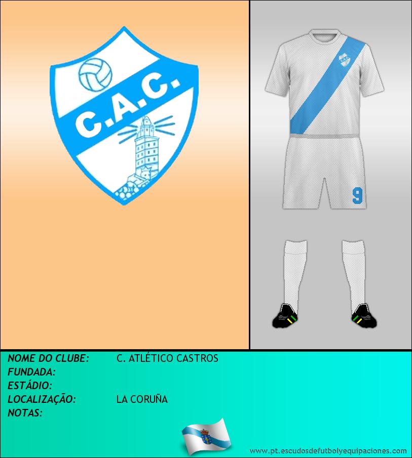 Escudo de C. ATLÉTICO CASTROS