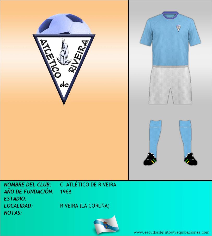 Escudo de C. ATLÉTICO DE RIVEIRA