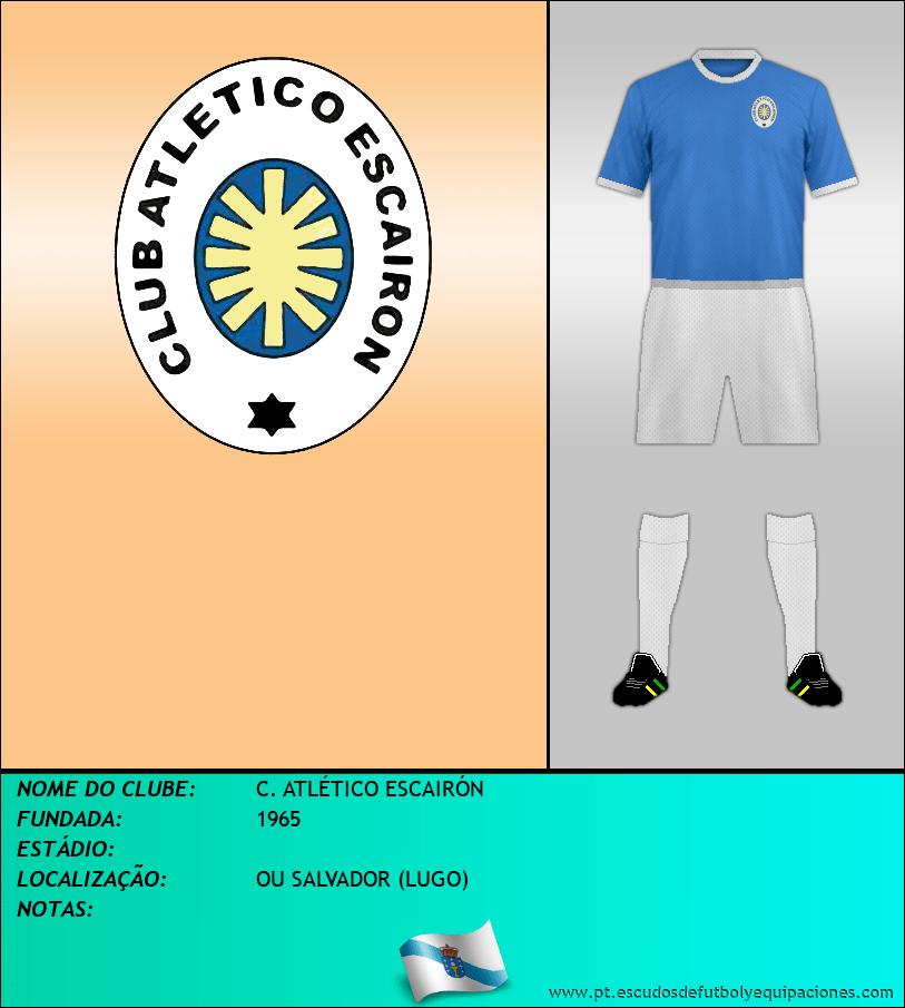 Escudo de C. ATLÉTICO ESCAIRÓN